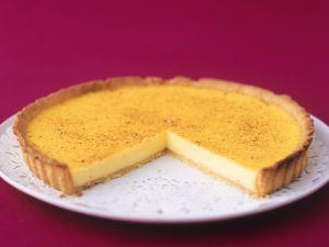 Tarte mit Puddingfüllung (Custard Tart) Rezept