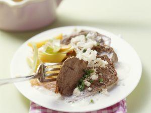 Tellerfleisch mit Meerrettich Rezept