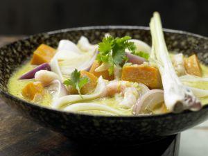 Thai-Kürbistopf Rezept