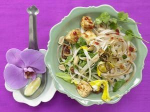 Thailändische Reisnudelpfanne Rezept