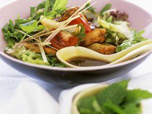 Thailändisches Hähnchensalat Rezept