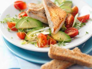 Thunfisch auf Avocado Rezept