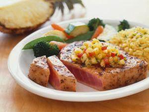 Thunfisch mit fruchtiger Salsa Rezept