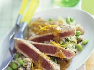 Thunfisch mit Reis Rezept