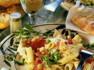 Thunfisch-Pastasalat mit Tomaten Rezept