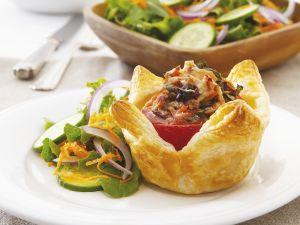 Thunfisch-Tomaten-Törtchen Rezept