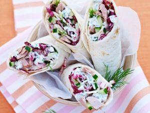 Thunfisch-Wraps Rezept