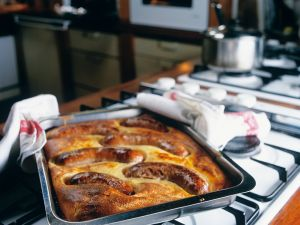 Toad in the hole Rezept