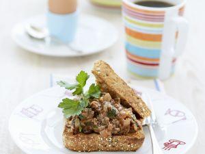 Toast mit Hackfleisch Rezept