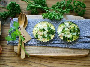 Törtchen mit Brokkoli Rezept