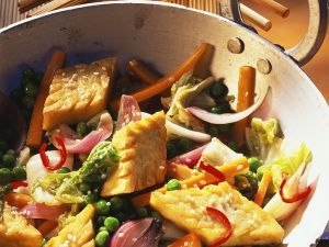 Tofu-Gemüse-Pfanne Rezept