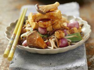 Tofu mit Gemüse Rezept
