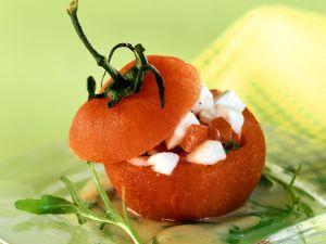 Tomate-Mozzarella aus dem Ofen Rezept