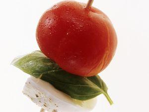 Tomate-Mozzarella-Spieße Rezept