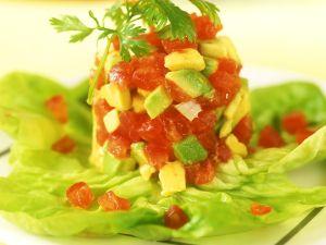 Tomaten-Avocadosalat Rezept