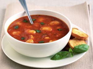 Tomaten-Bohnen-Suppe Rezept