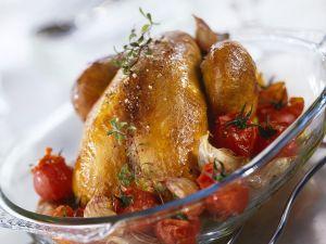 Tomaten-Hähnchen Rezept