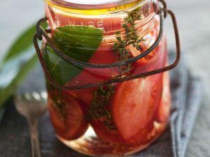 Tomaten im Essigsud Rezept