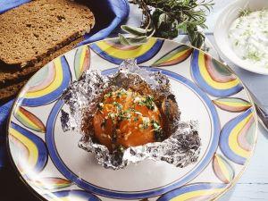 Tomaten in Folie gegrillt Rezept