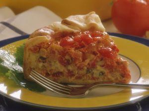 Tomaten-Käse-Quiche Rezept