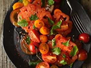 Tomaten-Minzsalat Rezept