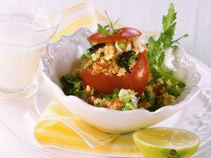 Tomaten mit Bulgurfüllung Rezept