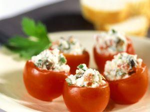 Tomaten mit Ricottafüllung Rezept