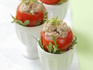 Tomaten mit Thunfischfüllung Rezept