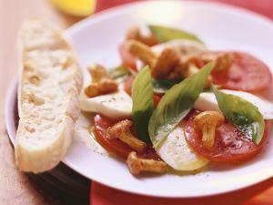 Tomaten-Mozzarella mit Pilzen Rezept