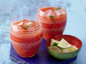 Blutiger Tomaten-Paprika-Drink
