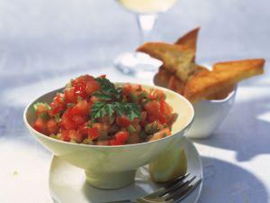 Tomaten-Salsa mit Kräutern Rezept
