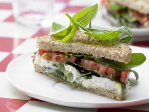Tomaten-Sandwich Rezept