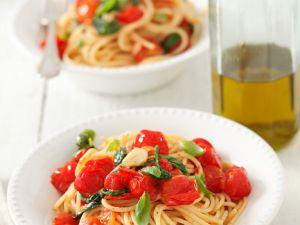 Tomaten-Spaghetti Rezept
