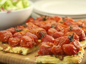 Tomaten-Tarte tatin Rezept