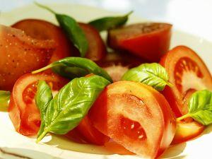 Tomaten und Basilikum Rezept