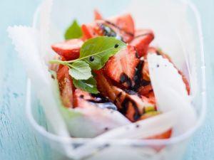 Tomatensalat mit Erdbeere Rezept