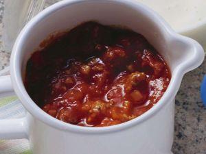 Tomatensoße mit Hackfleisch Rezept