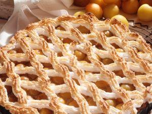 Torte mit Mirabellen und Marzipan Rezept