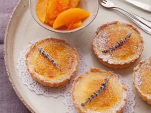 Torteletts mit Orangencreme Rezept