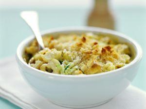 Tortellini-Gratin mit Zucchini Rezept