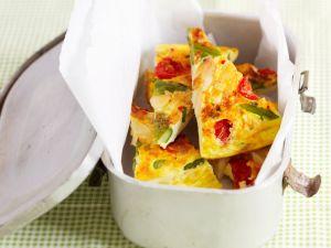 Tortilla mit Spargel und Käse Rezept