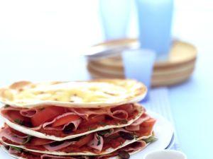 Tortilla-Turm Rezept