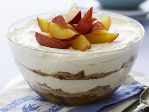 Trifle mit Pflaumen Rezept