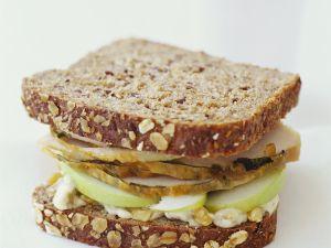 Truthahn-Apfel-Sandwich Rezept