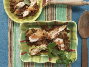 Überbackenes Chili-Hähnchen Rezept