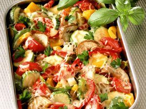 Überbackenes Gemüse Rezept