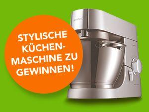 Gewinnen Sie mit UFOP eine tolle Küchenmaschine von Kenwood!