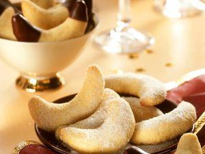 Vanille-Schoko-Kipferl Rezept