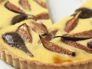 Vanille-Tarte mit Feigen Rezept