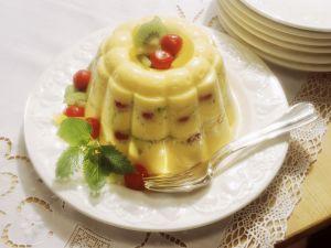 Vanillepudding mit Früchten Rezept
